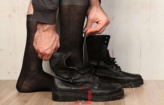 جوراب سربازی